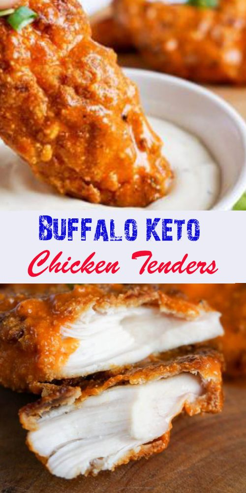 BUFFALO KETO CHICKEN TENDERS