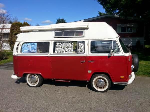 Volkswagen Camper Van on Vw 1600 Type 3 1971 Models
