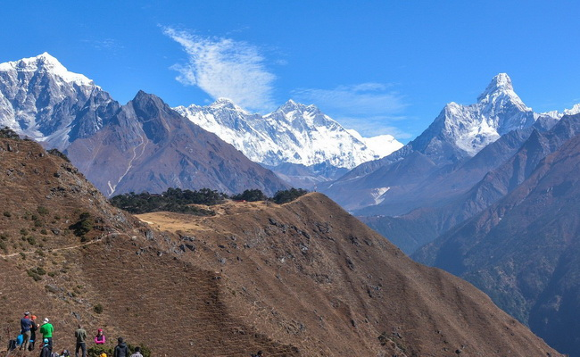 www.Xvlor.com Sagarmatha National Park is the highest natural conservation on earth
