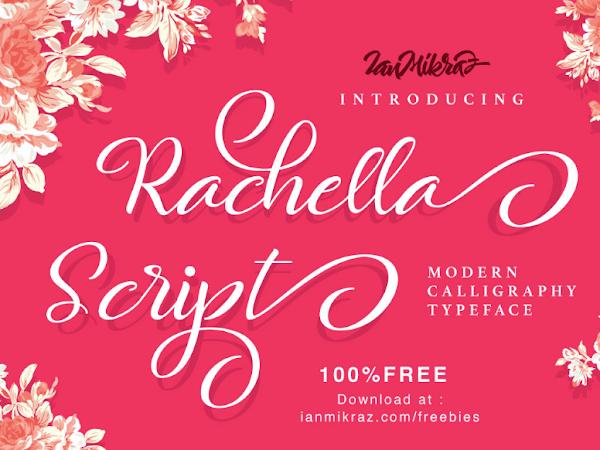 Download Rachella Script Font Free