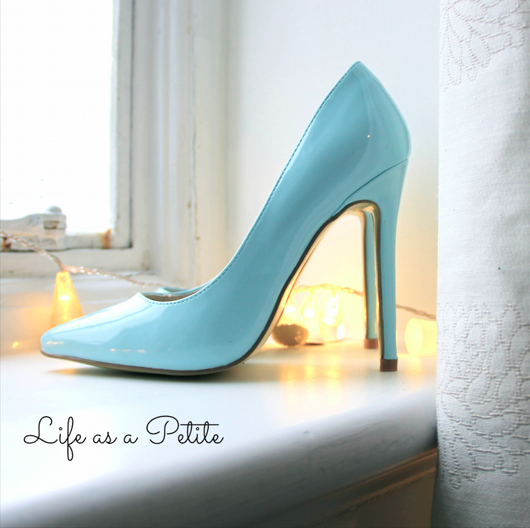 Light Blue Pointy Heels - Life as a Petite