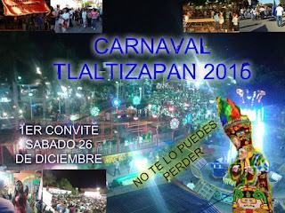 Carnaval Tlaltizapan 2016