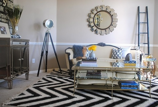 cool chevron rug
