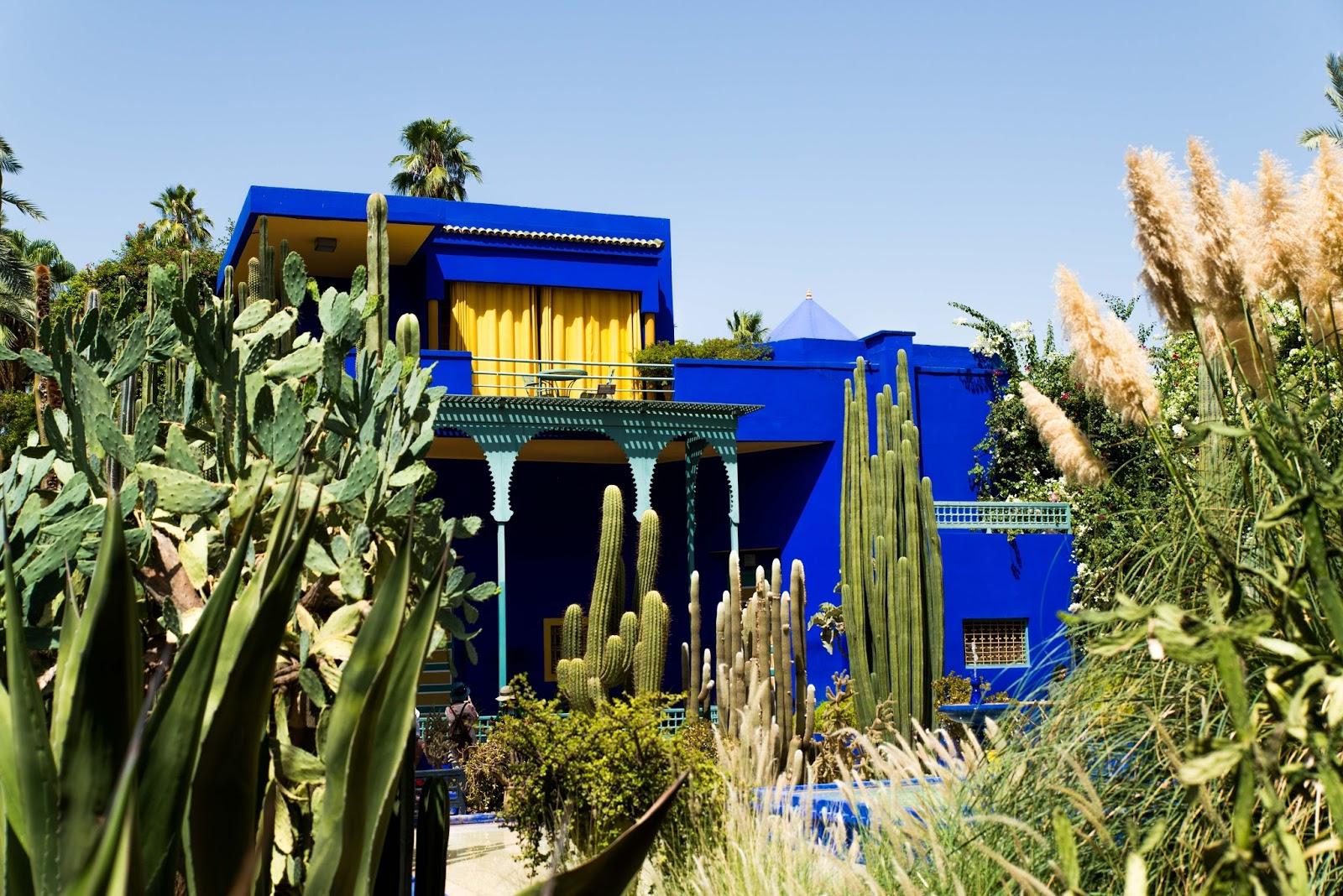 YSL's Jardin Majorelle, Marrakech garden liquidgrain liquid grain