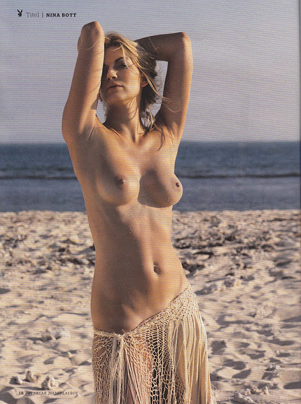 Nina Bott on the cover of Playboy Magazine NSFWPICS
