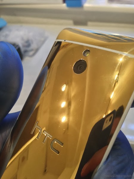 HTC One Gold Plated Edition Smartphone