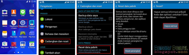 Cara Reset Samsung Galaxy Grand Prime G530H