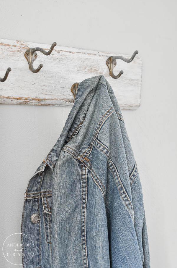 DIY Rustic Coat Rack Makeover Anderson Grant New Anderson Coat Rack