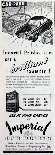 Imperial Car Polish 1953