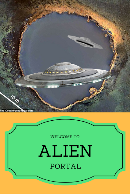 Aliens have undersea bases and world wide portals.