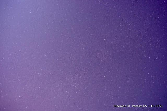 隱約的銀河 / Pentax O-GPS1
