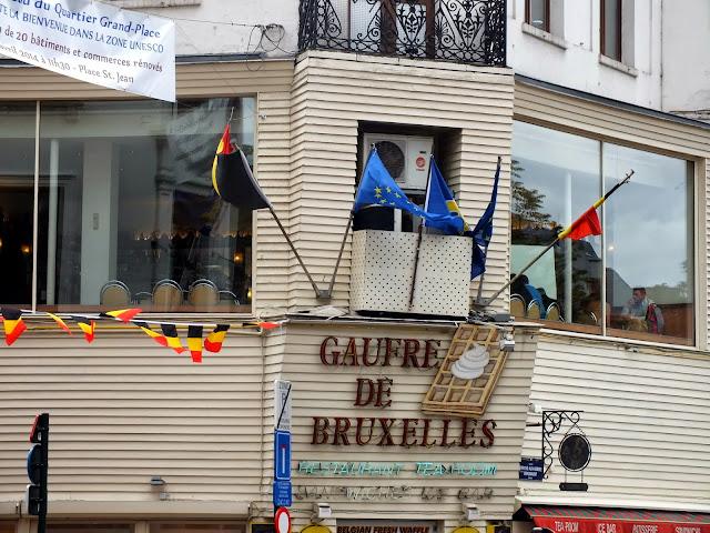 ¿Un gaufre? típico de Bruselas