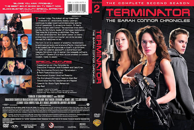 Terminator: The Sarah Connor Chronicles Season 1 DVD Cover