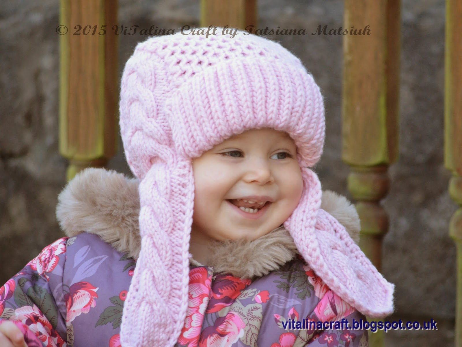 I used Lana Grossa Bingo merino wool yarn in pretty pink colour to knit my Winterberry  Earflap Hat. This aran weight yarn is really soft and beautiful and ... a78b22dd592
