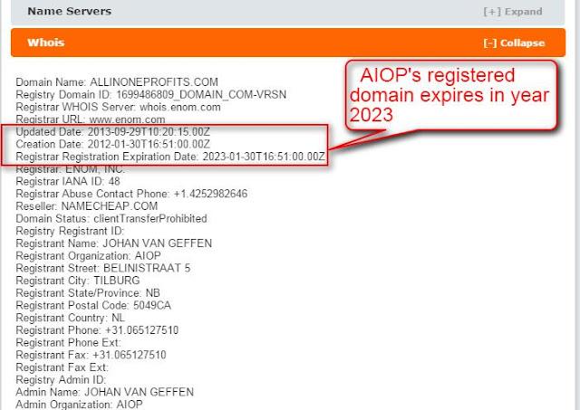 Truth about aiop-allinoneprofits.com -steve-fynn.blogspot.com