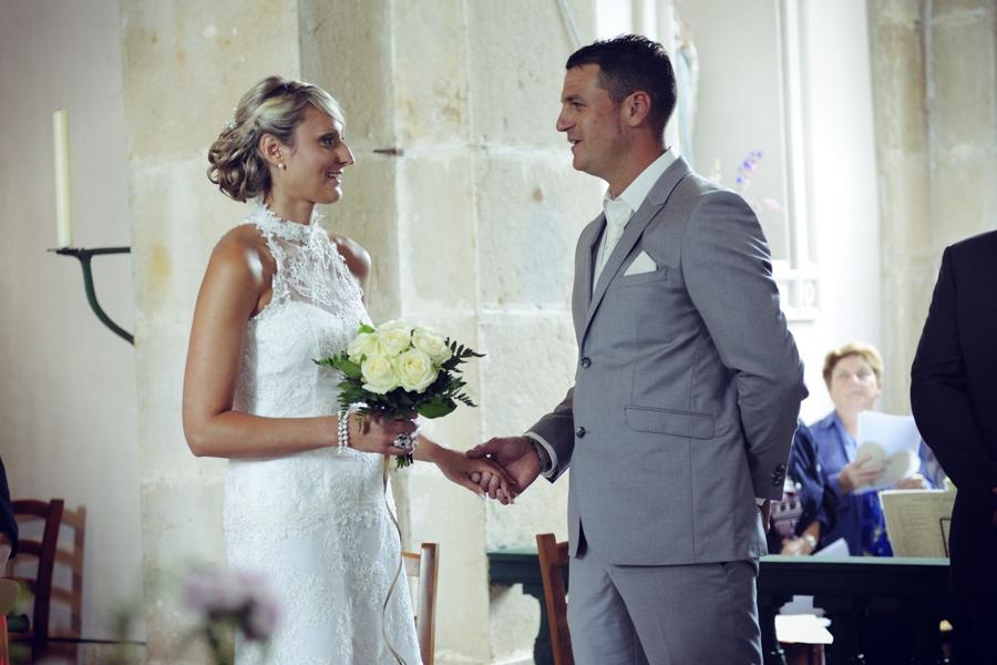 Mariage de campagne  : ceremonie religieuse dans le 70