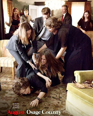 Poster Of Hollywood Film August Osage County (2013) In 300MB Compressed Size PC Movie Free Download At worldfree4u.com