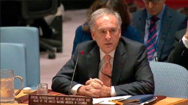 ONU confirma que misión en Colombia operará en fecha acordada