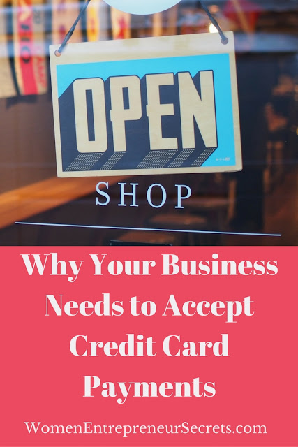 why your business needs to accept credit card payments