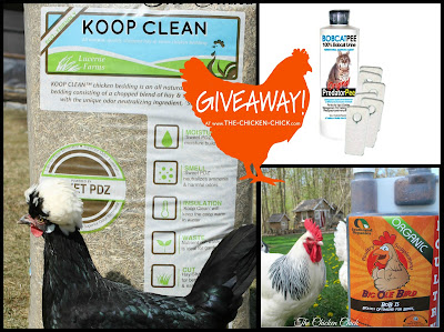 Happy Chicken Prize Package GIVEAWAY at www.The-Chicken-Chick.com