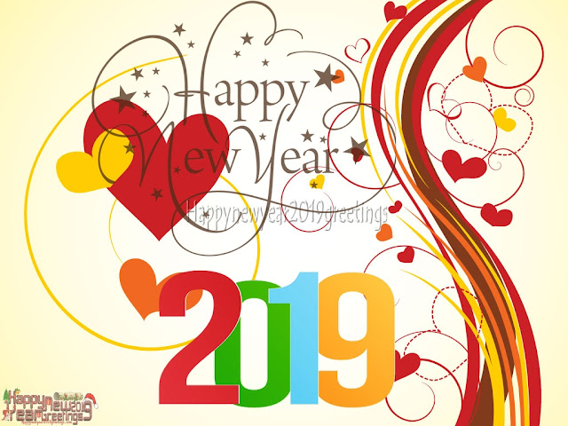 New Year 2019 Love Greetings Wishes
