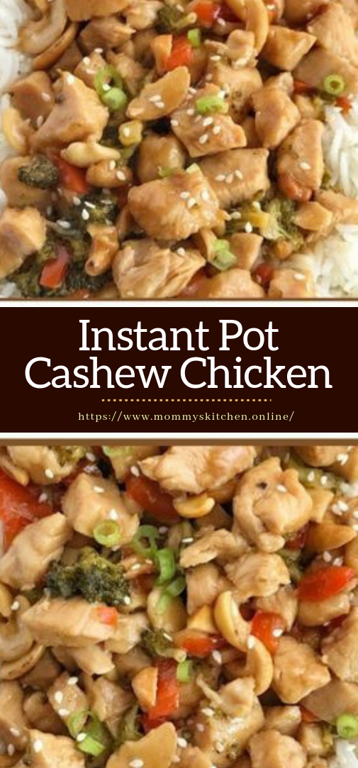 Instant Pot Cashew Chicken #dinner #recipe