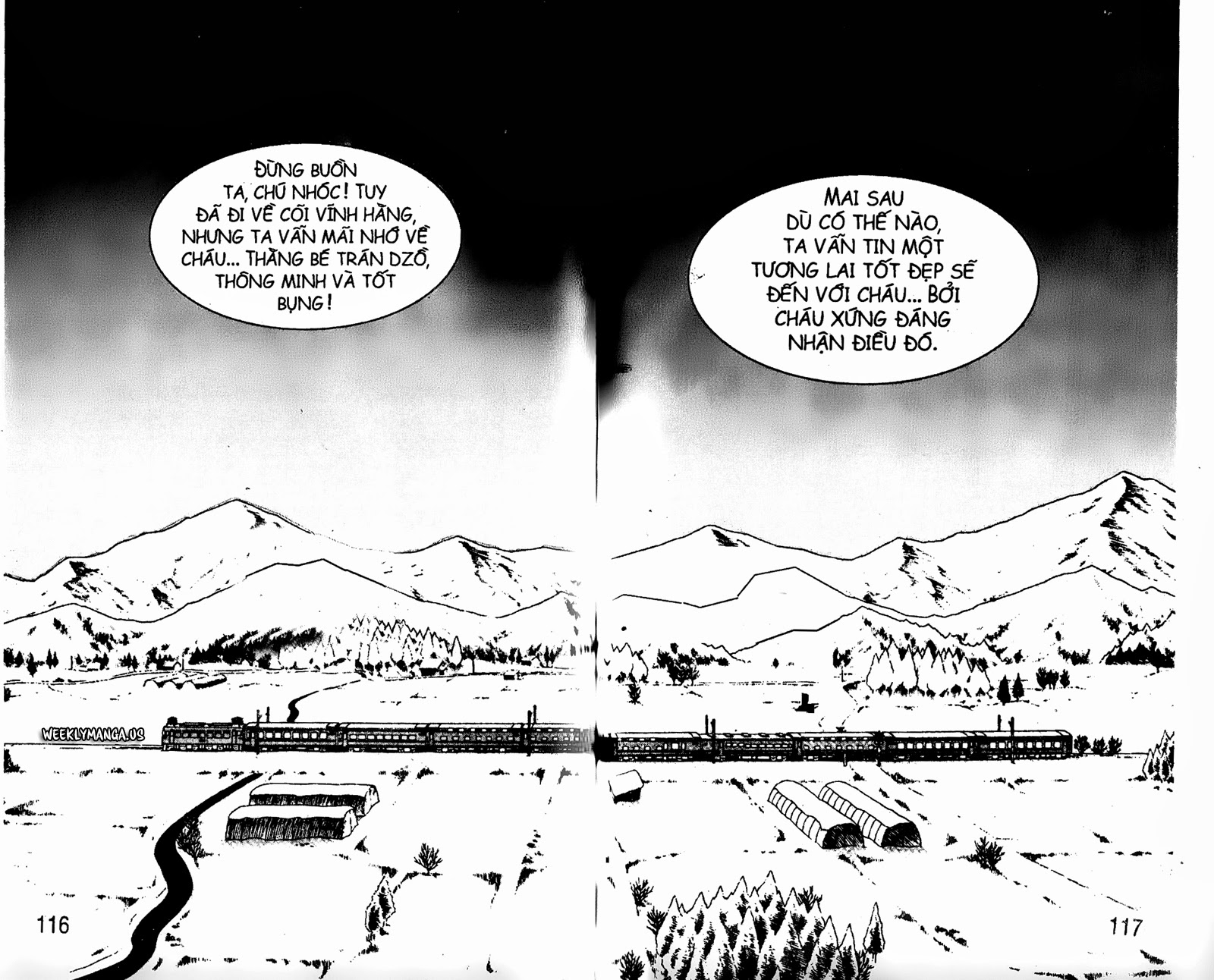 Shaman King [Vua pháp thuật] chap 177 trang 19