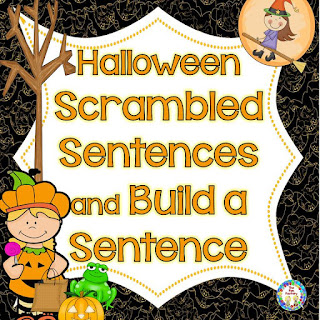 https://www.teacherspayteachers.com/Product/Halloween-Scrambled-Sentences-and-Build-a-Sentence-775432