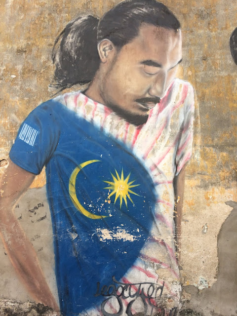 Street Art di Penang, Malaysia