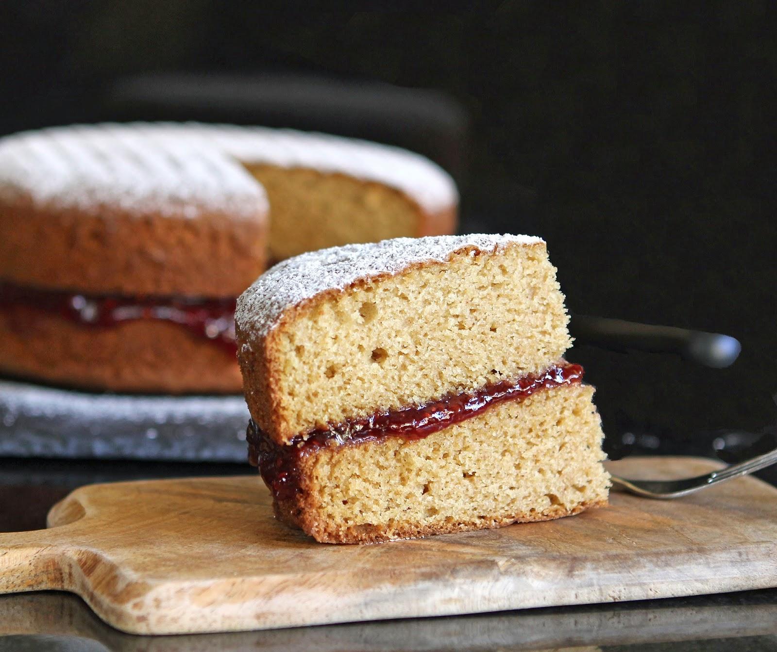 Easy Victoria Sponge Cake Recipe  Eggs