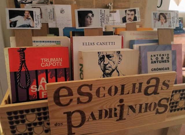 Uma cena muito gira em Cascais livraria solidária déjà lu