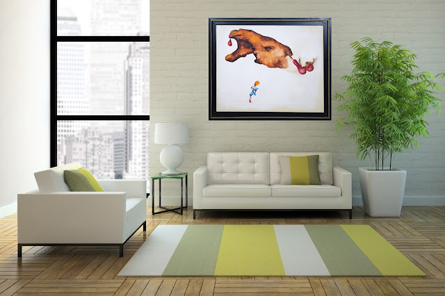 Cómo decorar un espacio con arte de Modest Cuixart