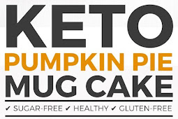 Keto Pumpkin Pie Mug Cake