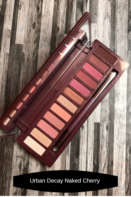 Urban Decay Naked Cherry (Review and Swatches)