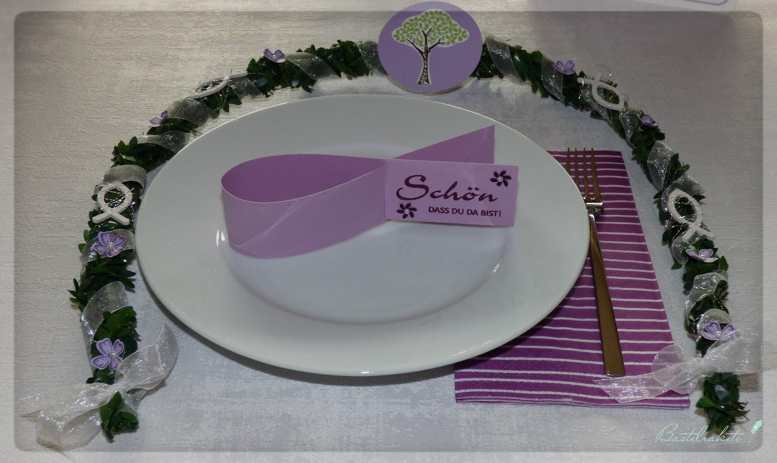 Bastelrakete kommunion deko for Pink deko