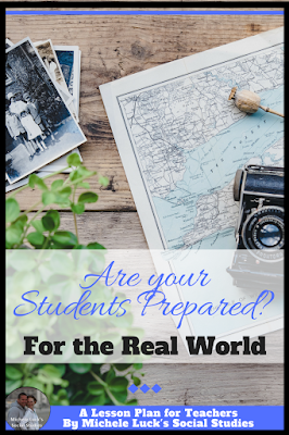 Whether you teach core content classes or electives, your students must be prepared for the real world through the lessons you are teaching each day. Read these tips for teaching real world applications at the middle and high school level. The analysis lessons is the best! #teaching #lessons #realworld