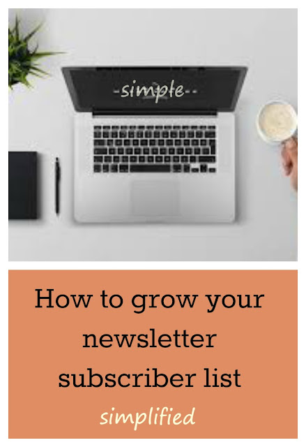 How to grow your newsletter subscriber list