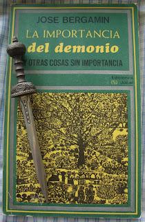 Portada del libro La importancia del demonio y otras cosas sin importancia, de José Bergamín