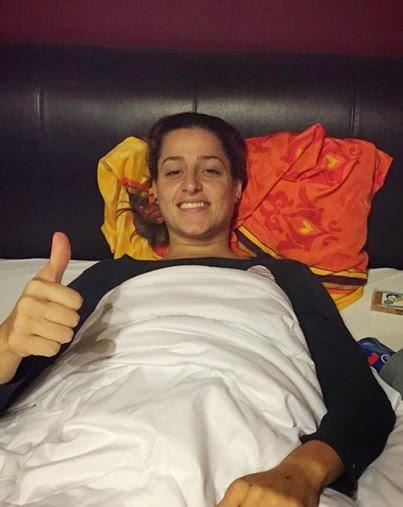 Duda Amorim operada con éxito | Mundo Handball