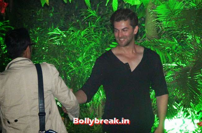 Neil Nitin Mukesh, Kainaat, Huma & Manjari at Sanjay Gupta Party for Milap Zaveri
