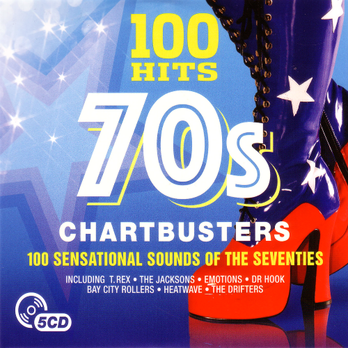 Download 100 Hits 70s Chartbusters 5CD (2017), Baixar 100 Hits 70s Chartbusters 5CD (2017)