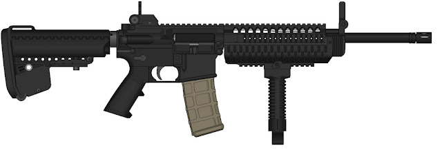 Image Attribute: Colt Infantry Assault Rifle (IAR)