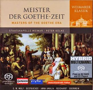Weimar Staatskapelle – Wolf, E.W.: Symphonies in E Minor / G Major / Destouches, F.S. Von: Symphony in D Major