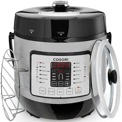 COSORI-electric-pressure-cooker-7-in-1-multi-functional-stainless-steel-slow-cooker- 6-quart