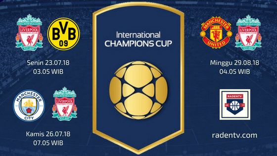 Streaming Liverpool ICC 2018