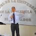 Pastor Mario Vega imparte ponencia en UES-FMP