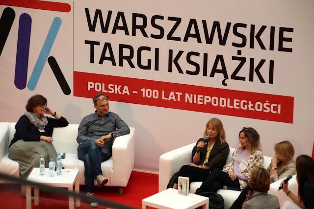 Warszawskie Targi Książki w piątek