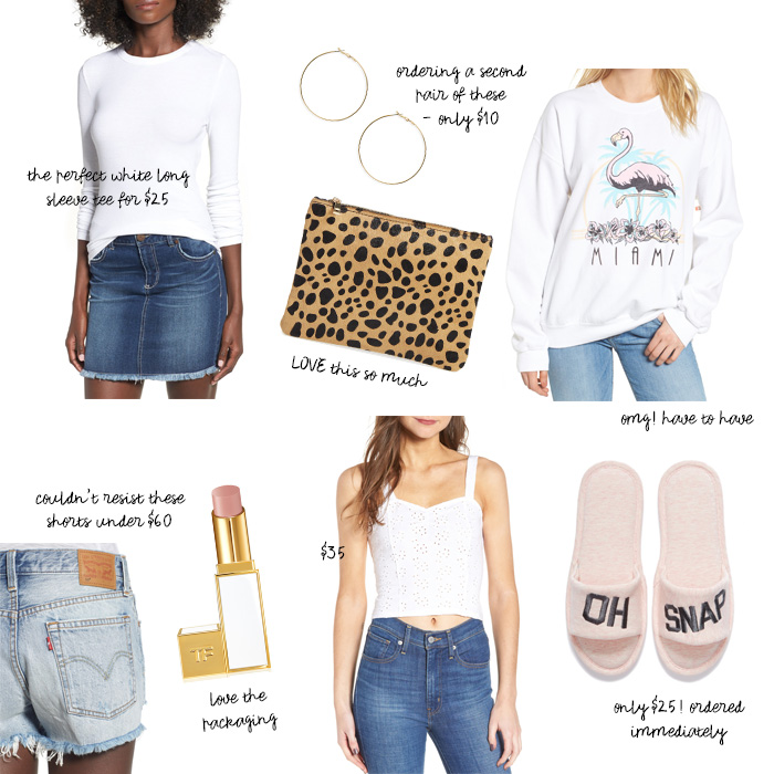 Nordstrom Triple Points Picks
