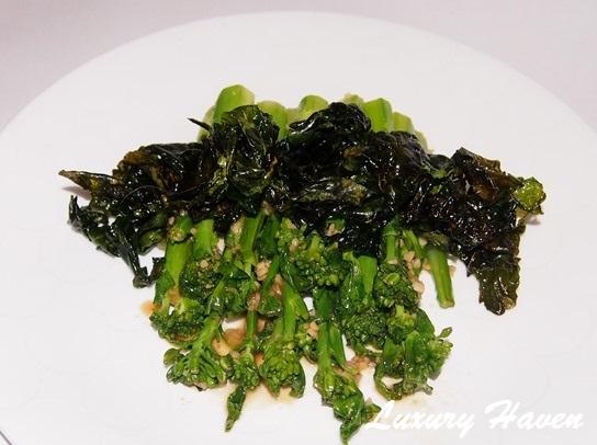yuan yang hong kong kailan vegetables recipe