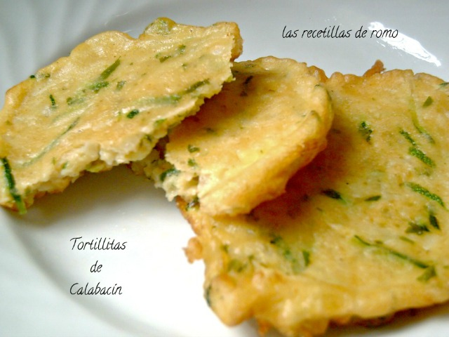"""Tortillitas de calabacín"""